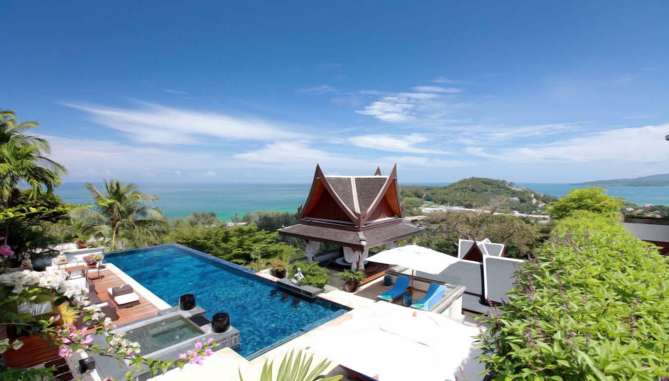 SUR02 Sea View Pool Villa 7 bedrooms In Surin Beach03