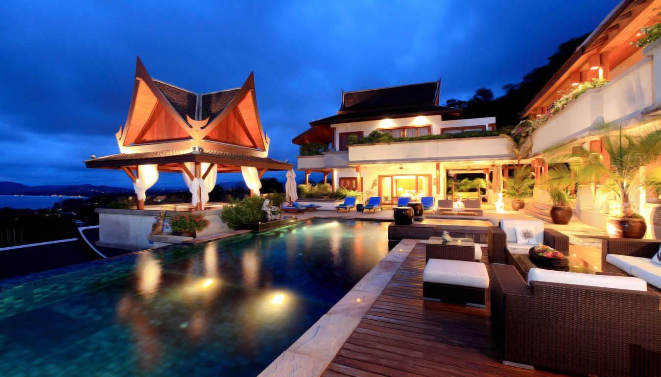 SUR02 Sea View Pool Villa 7 bedrooms In Surin Beach10