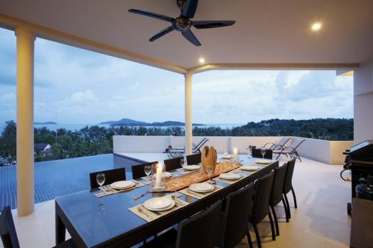 NH9 Private Pool Villa Sea View Nai Harn