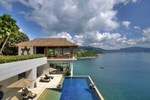 KAM18 Private Pool Villa Sea View In Kamala Phuket