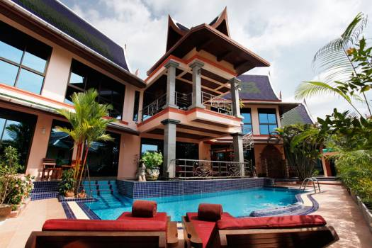 KAT05 Luxury Thai Style Villa Sea View Kata Phuket
