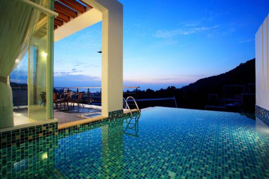 KAT06 Private Pool Villa Sea View Kata Phuket