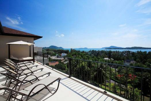 Private Pool Villa Sea View In Nai Harn Beach Phuket