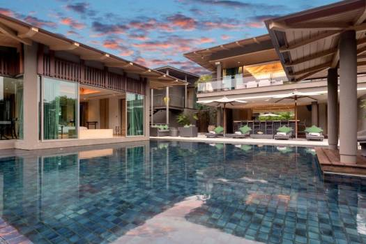 LAY02 Private Pool Villa Sea View Layan Beach