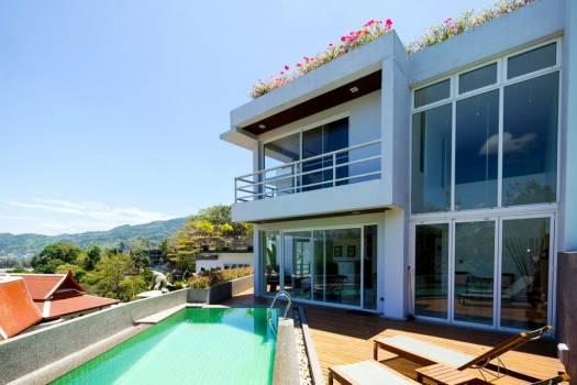 PAT46 Rent Seaview Private Pool Villa Patong Phuket18