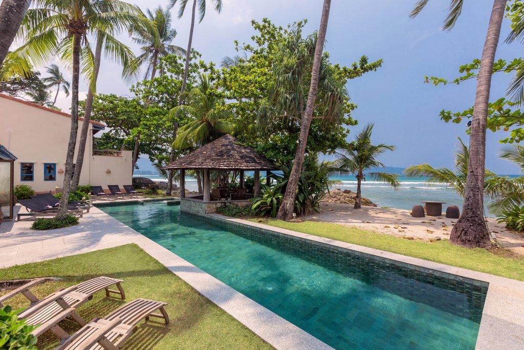 Beach Front 5 bedroom villa in Patong Phuket