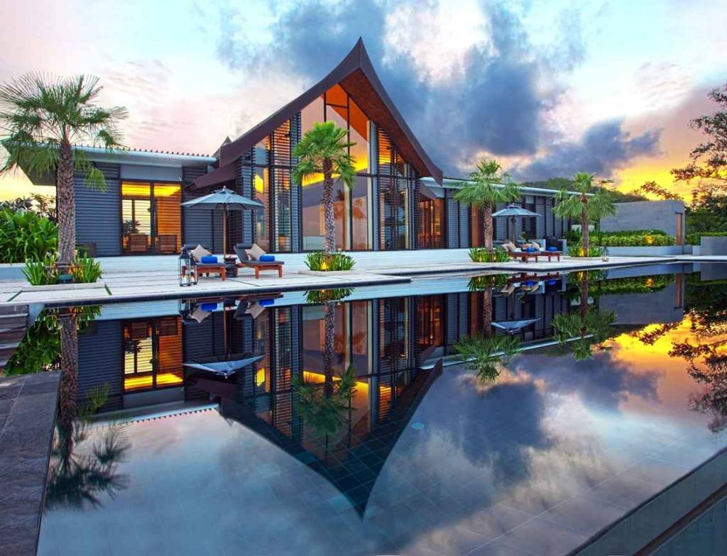 Luxurious villa in cape yamu created by philippe starck for Beautiful villas pics