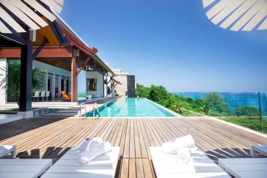 THA15 Seaview Villa In Naithon Beach