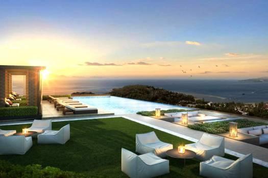 SUR17 Luxurieux Appartement Vue Mer Surin