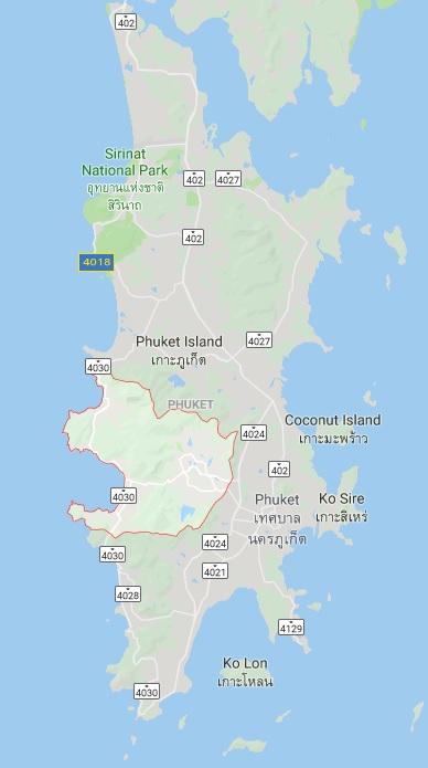 Kathu District Map