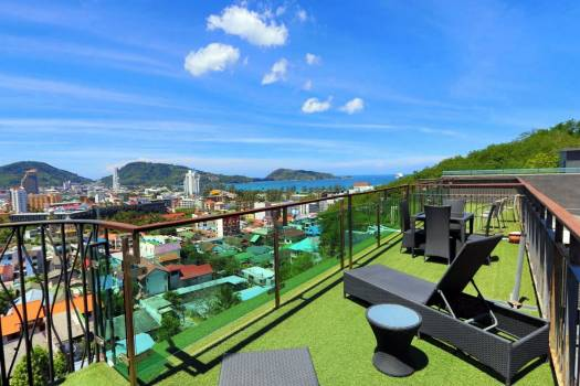 Emerald Terrace Patong Sea View Penthouse PAT129